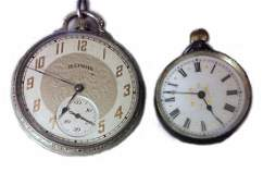 (2) Vintage Pocket Watches