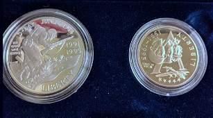 (10) US Silver Commemorative Coins