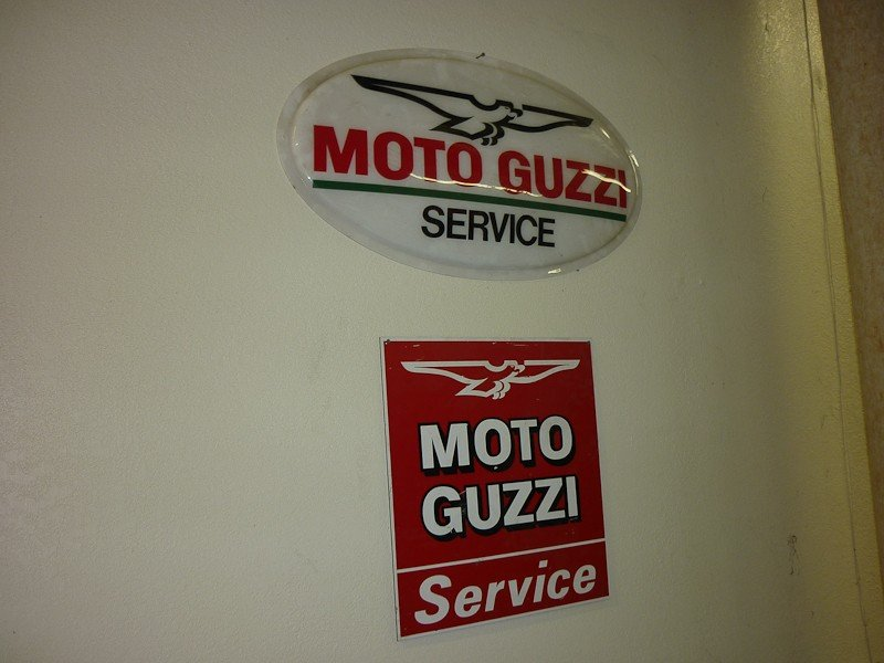 76: Vintage Moto Guzzi Posters