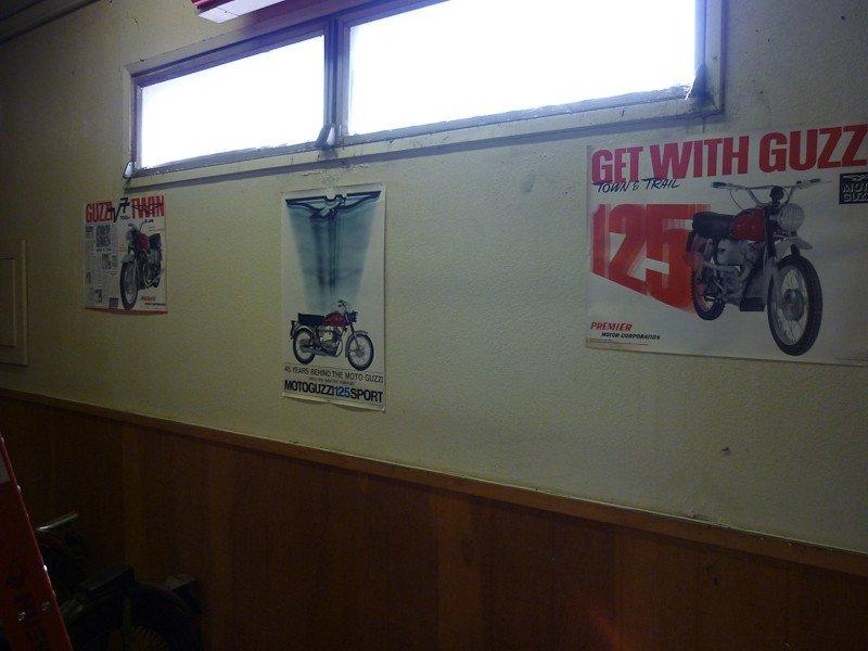 76: Vintage Moto Guzzi Posters - 3