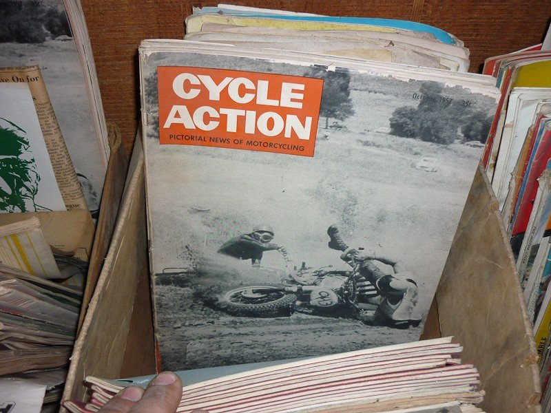 77: Vintage Motorcycle Magazines - 4