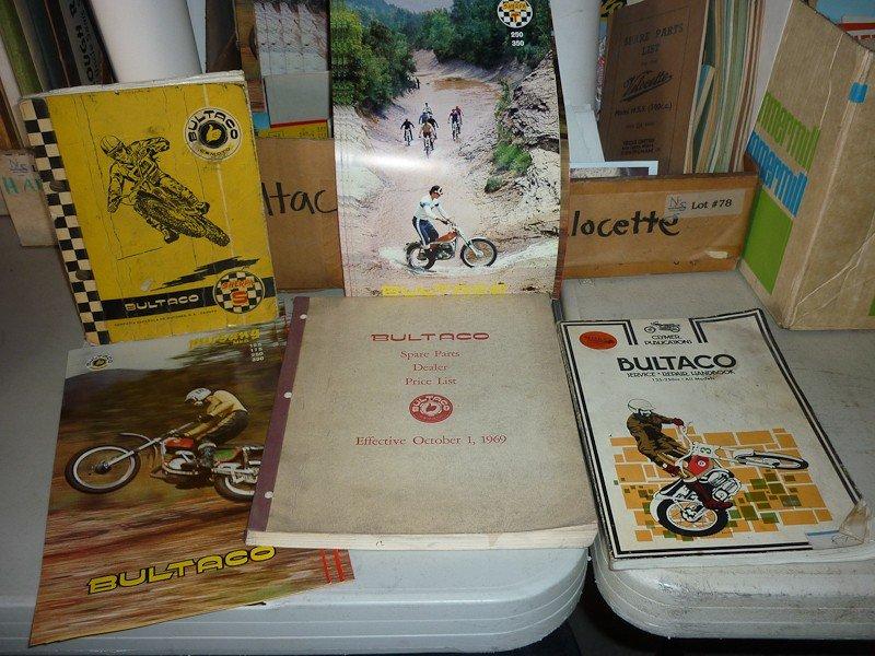 79: Bultaco Motorcycle Memorabilia