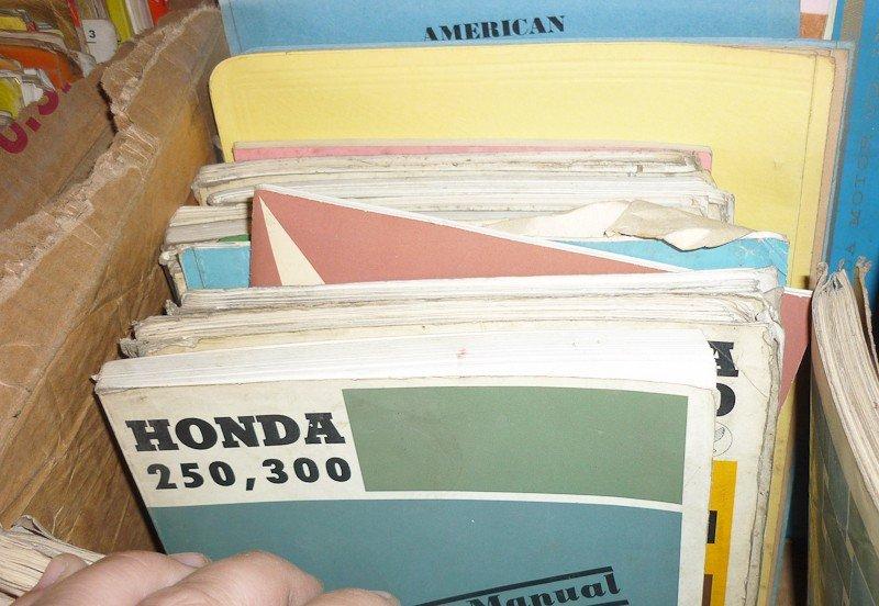84: Honda Motorcycle Memorabilia