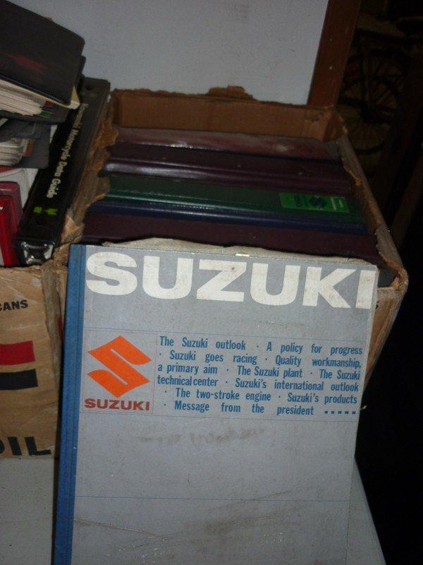 86: Suzuki Motorcycle Memorabilia