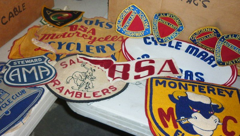 92: Motorcycle Patches