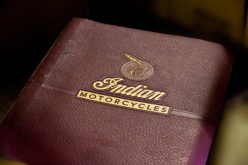 114: Indian Motorcycle Memorabilia