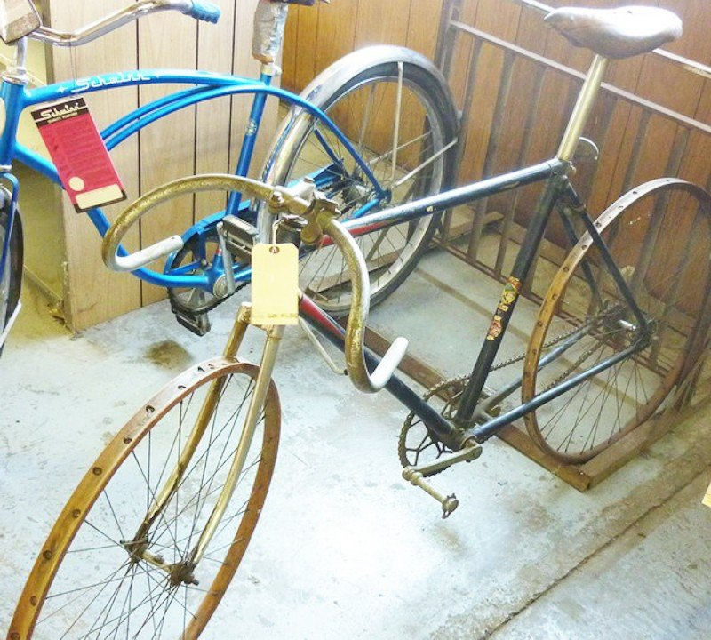 130: Antique Hercules Speed King Bicycle