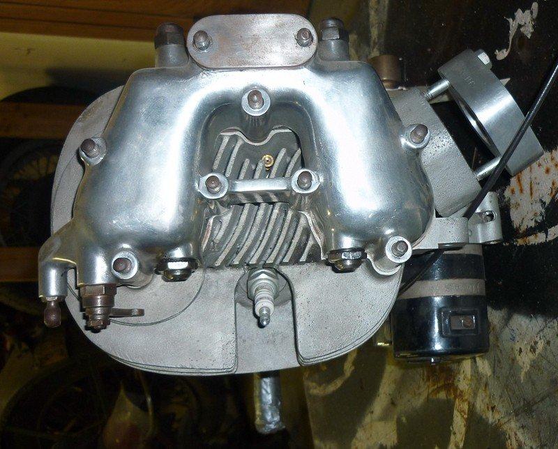 156: 1956 BSA DBD.34 Goldstar Motorcycle Engine. New