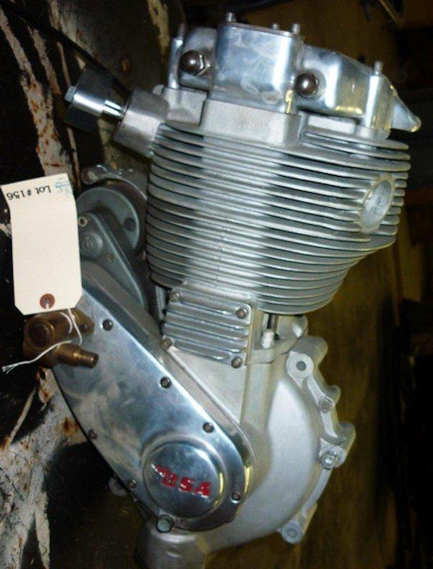 156: 1956 BSA DBD.34 Goldstar Motorcycle Engine. New - 2