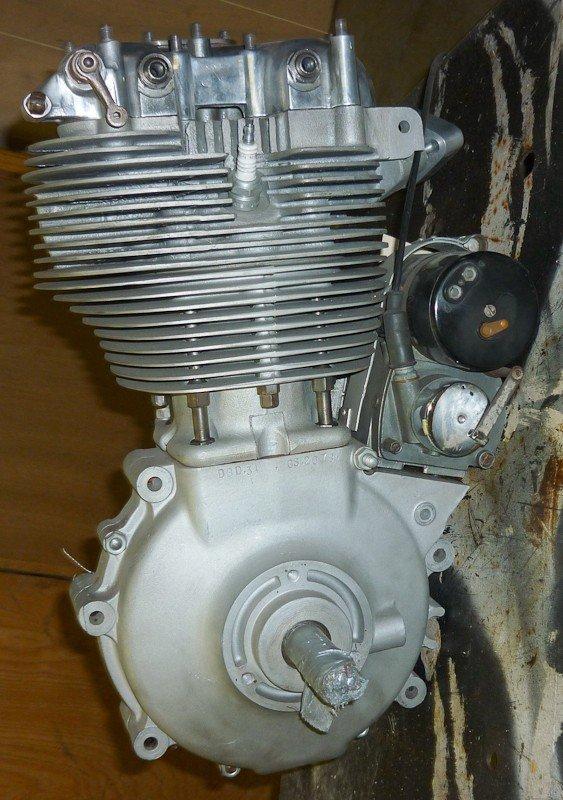 156: 1956 BSA DBD.34 Goldstar Motorcycle Engine. New - 3