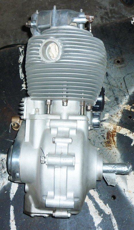 156: 1956 BSA DBD.34 Goldstar Motorcycle Engine. New - 4