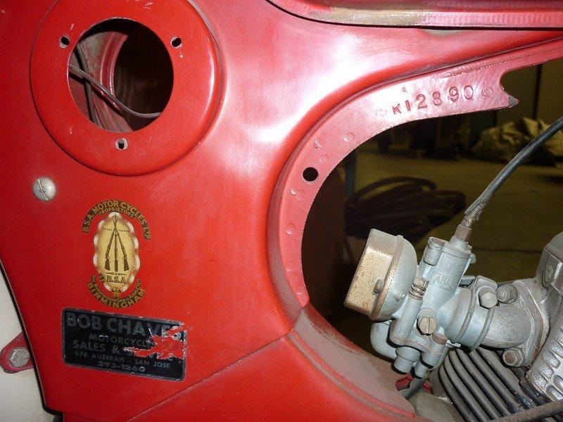 157: 1964 BSA Starlite / Beagle Motorcycle - 5