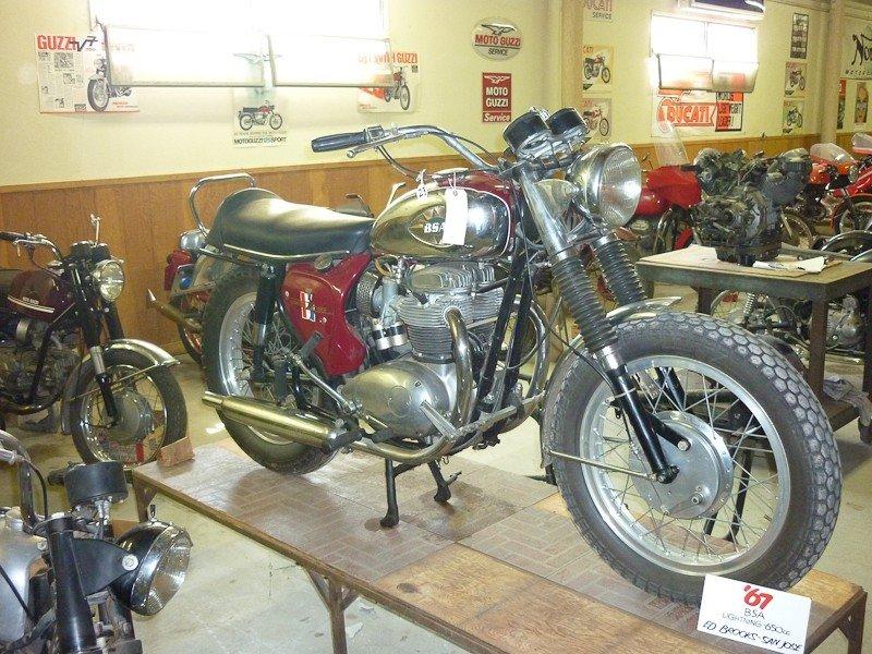 174: 1967 BSA A65 Lightning Motorcycle - 2