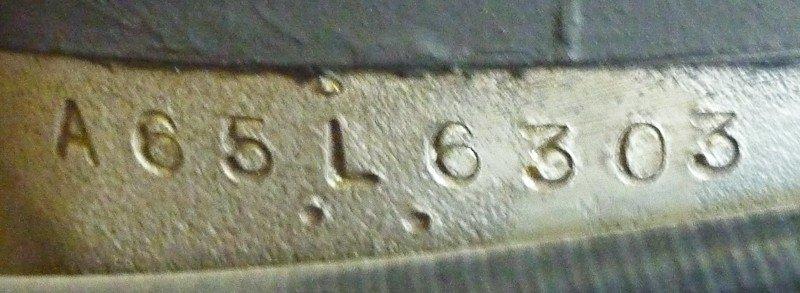174: 1967 BSA A65 Lightning Motorcycle - 7