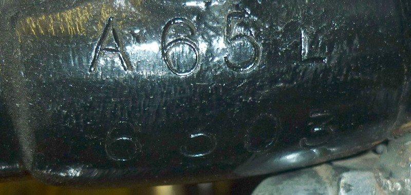 174: 1967 BSA A65 Lightning Motorcycle - 8