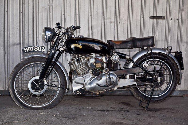 204: 1952 Vincent Comet Motorcycle