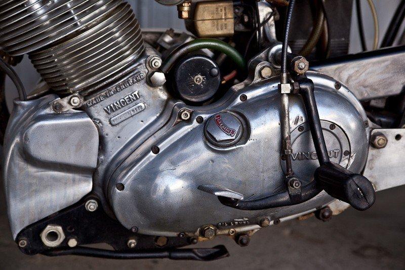 204: 1952 Vincent Comet Motorcycle - 2