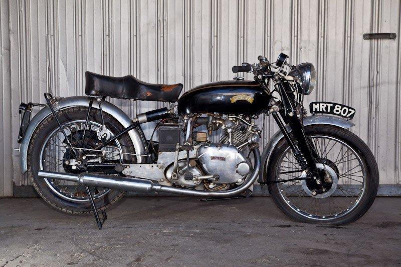 204: 1952 Vincent Comet Motorcycle - 3