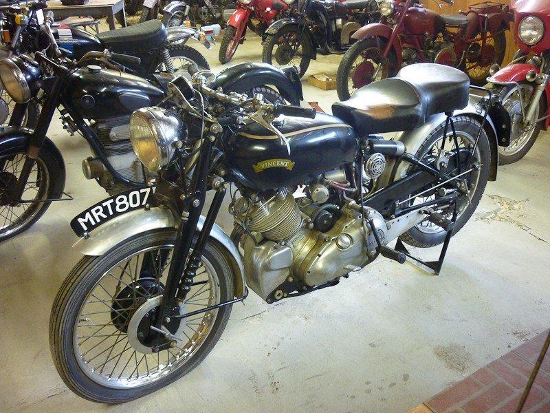 204: 1952 Vincent Comet Motorcycle - 5