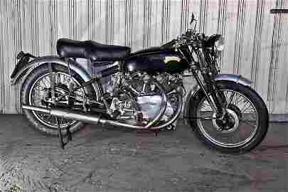 205: 1952 C Rapide Vincent Motorcycle