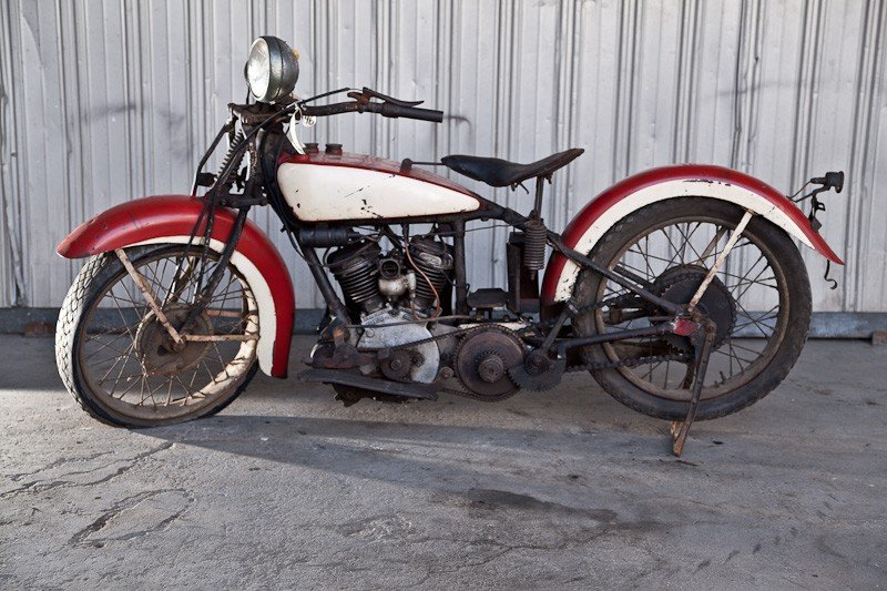 283: 1936 Indian 536 Junior Scout Motorcycle