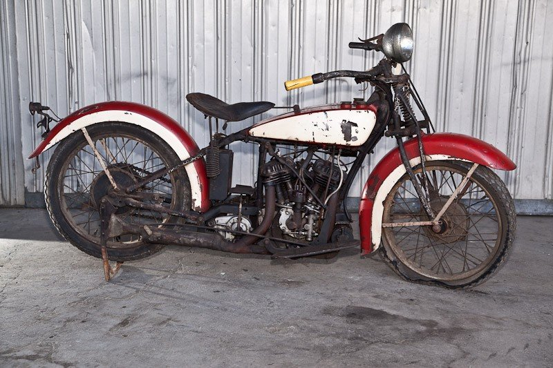 283: 1936 Indian 536 Junior Scout Motorcycle - 2