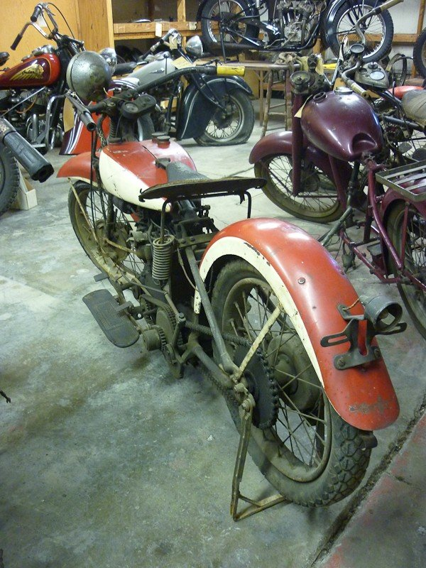 283: 1936 Indian 536 Junior Scout Motorcycle - 3