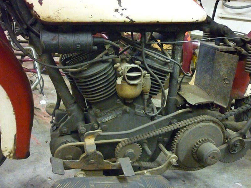 283: 1936 Indian 536 Junior Scout Motorcycle - 4