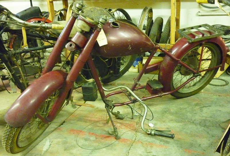 284: 1949 Indian 149 Arrow Motorcycle