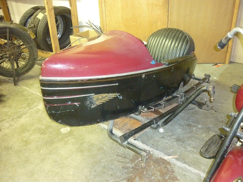 287: 1948 Indian Chief Motorcycle with Princess Sidecar - 6