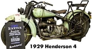 292: 1931 Henderson 4 Motorcycle