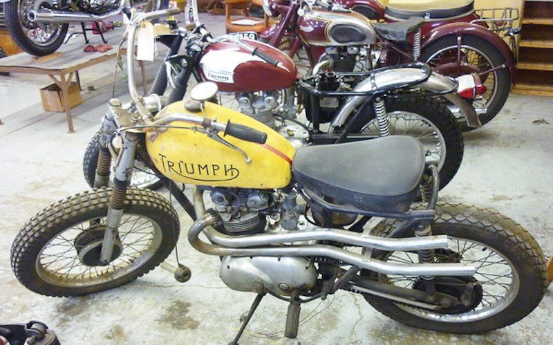 297: 1964 Triumph T100SC Sport Tiger Motorcycle - 3
