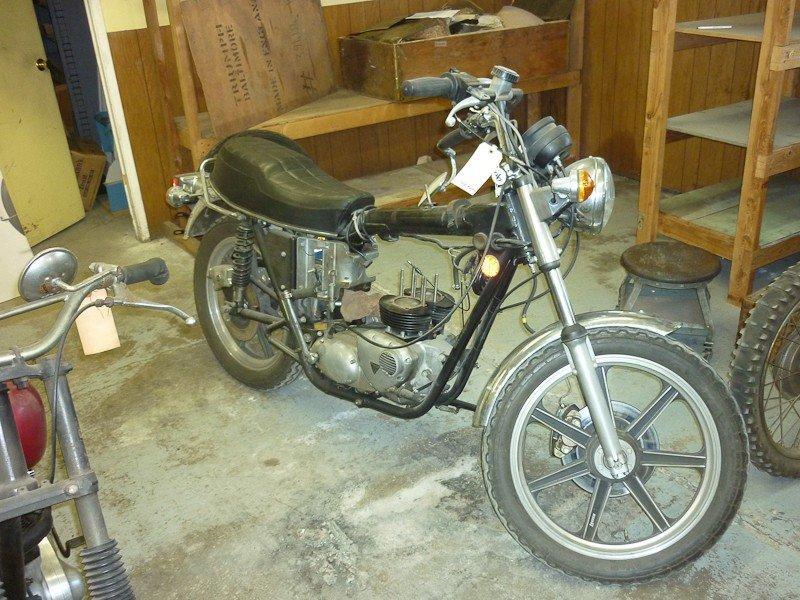 299: 1979 Triumph T140D Bonneville Special Motorcycle