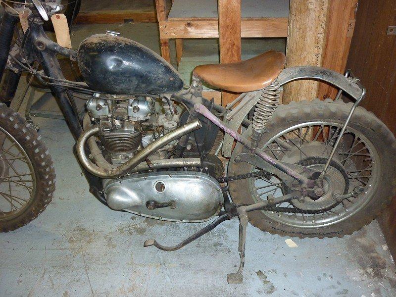 300: 1949 Triumph TR5 Trophy Motorcycle - 2