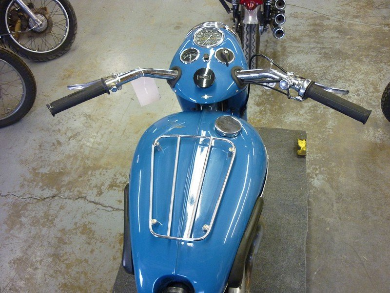 312: 1951 Triumph 6T Thunderbird Motorcycle - 5