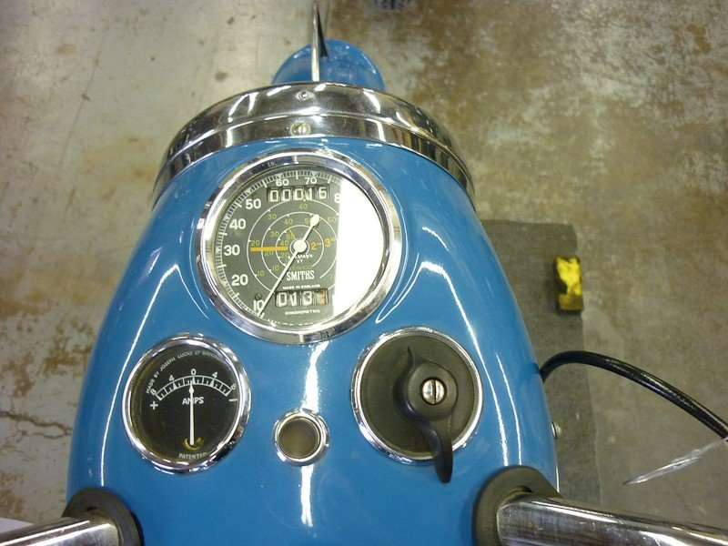 312: 1951 Triumph 6T Thunderbird Motorcycle - 6
