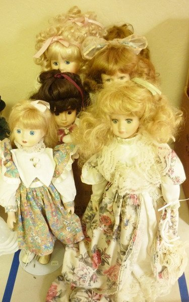 3: Contemporary, Porcelain Doll Collection