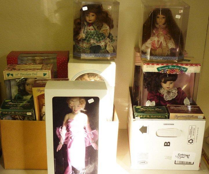 4: Dolls in Original Boxes