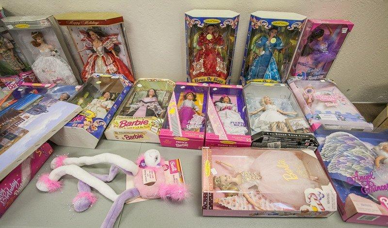 7: Barbie Dolls in Original Boxes