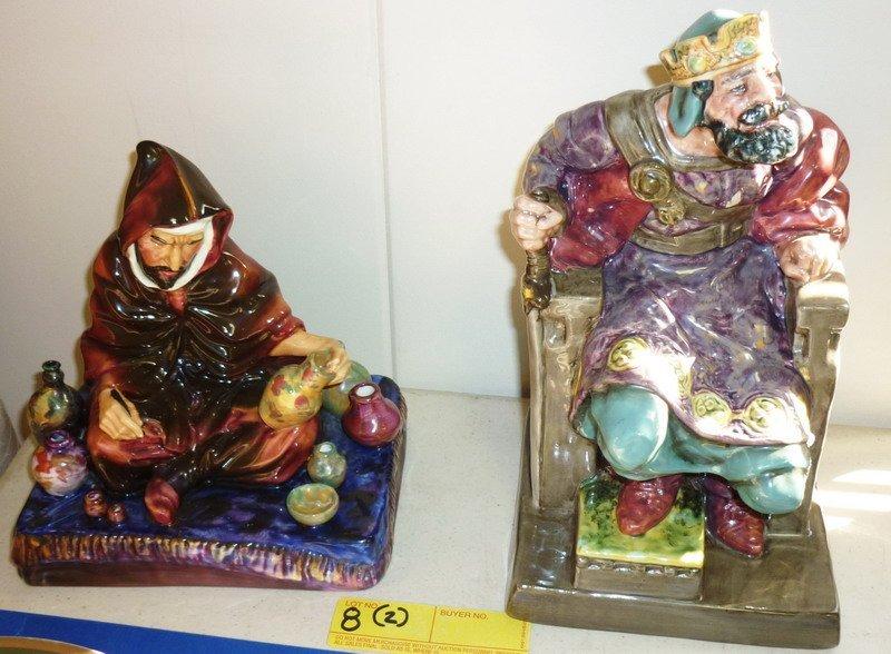 8: Royal Doulton Figurines