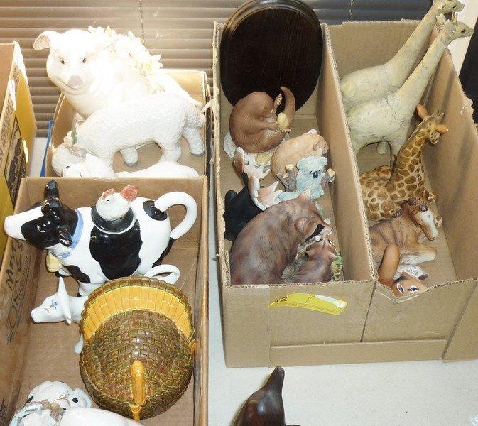 12: Misc. Animal Figurines
