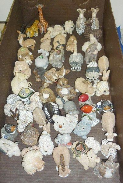19: Artesania Rinconada Animal Figurines
