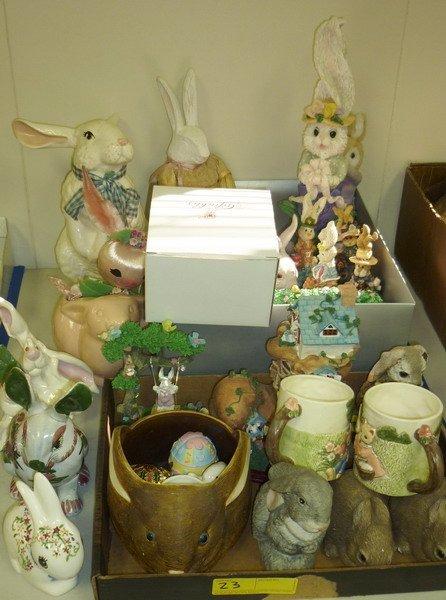 23: Rabbit Figurine Collection