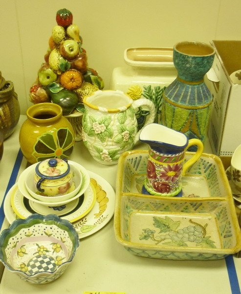 34: Italian and Mexican Ware