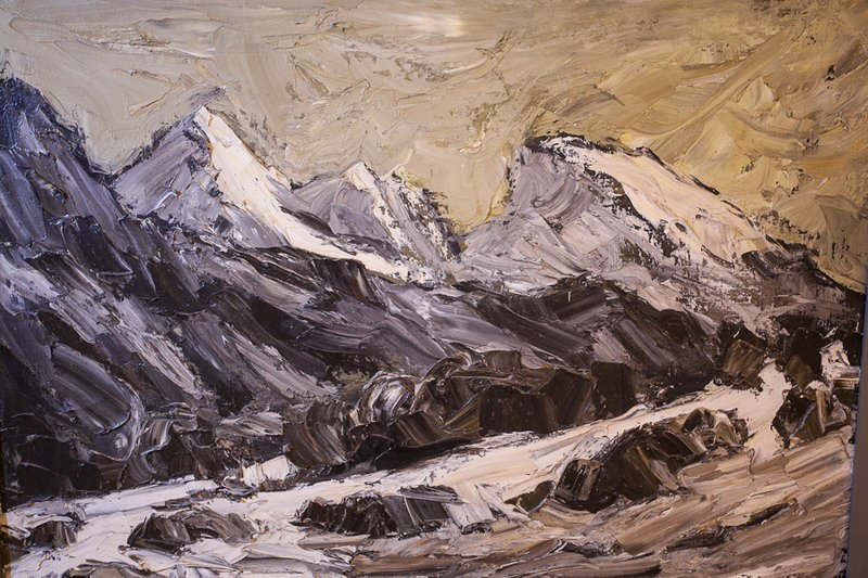 202: Kyffin Williams (1918 - 2006) Oil Painting