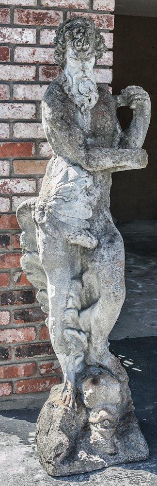 Poseidon Large Garden Sculpture