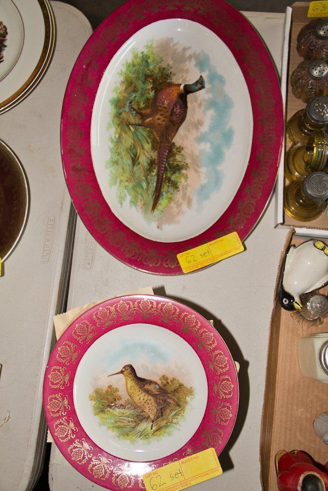 MZ Austrian Bird Plates