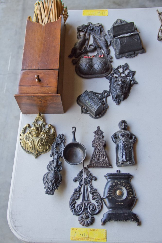 Collection of Match Holders and Etc.