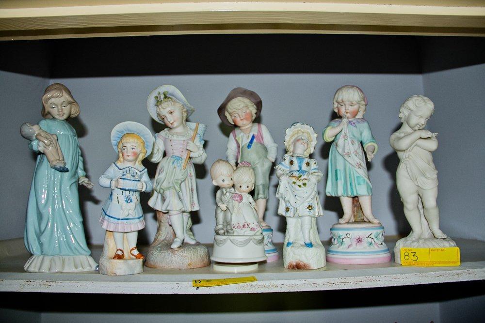 Parianware Figurines