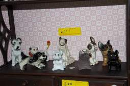 Collection of Dog Figurines